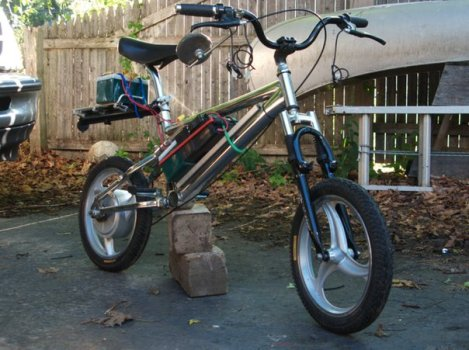 Minibike (scooter conversion)
