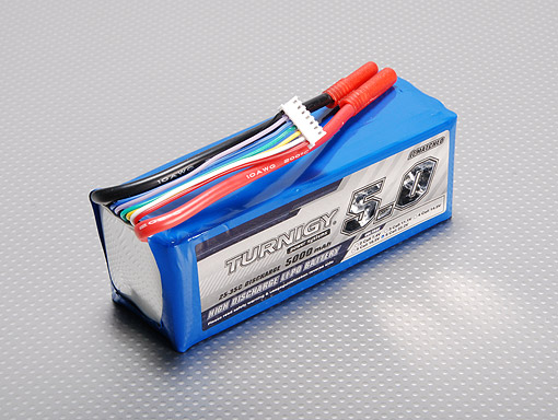 Turnigy 5000mAh 6S 25C Lipo Batteries  Awesomeness  | The Electric