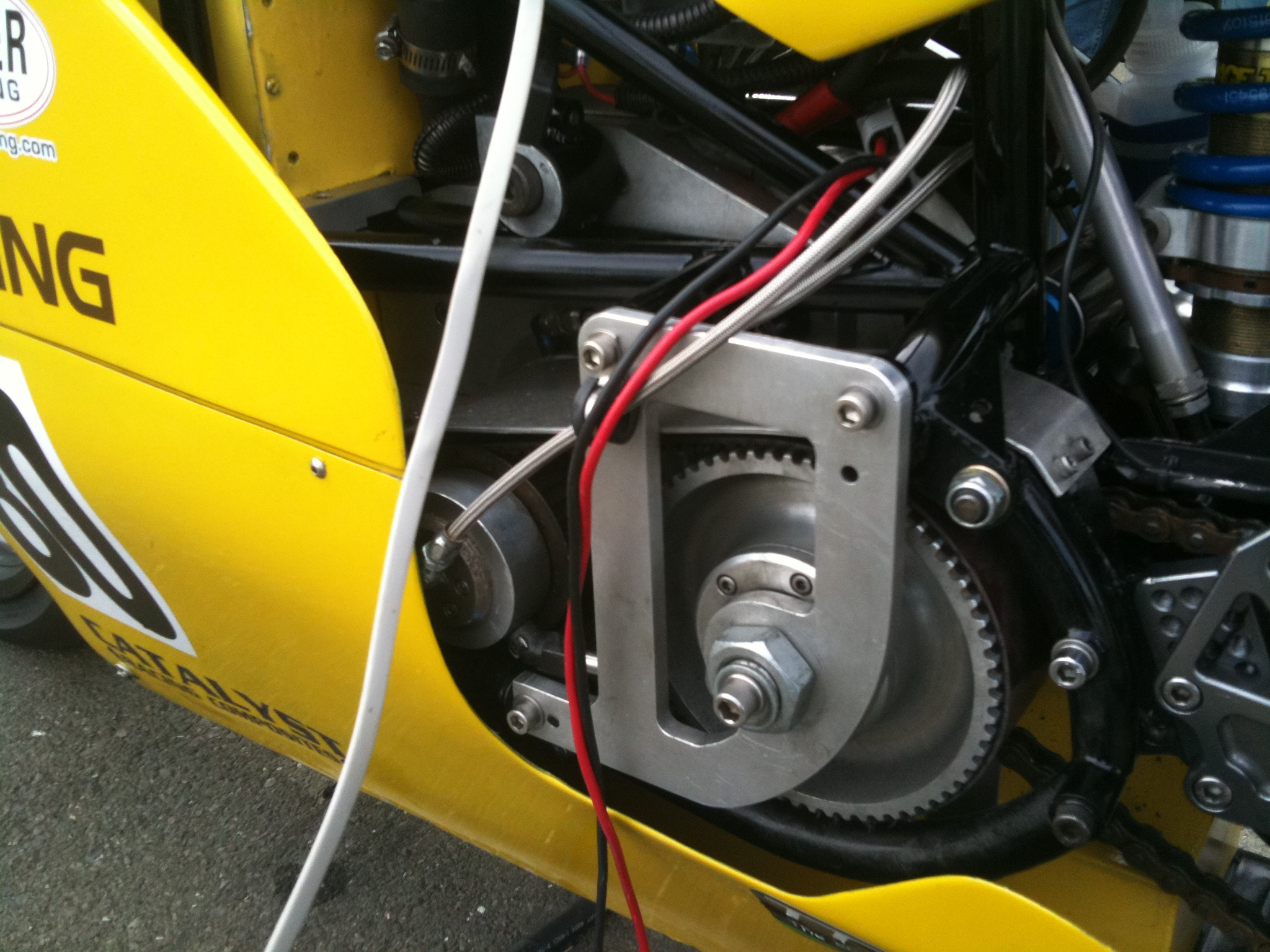 The Electric Garage Lightning Motors Ev1 Chronicles History Of Motorcycle Engine Heat Control And Liquid Cooling Thunder Dude