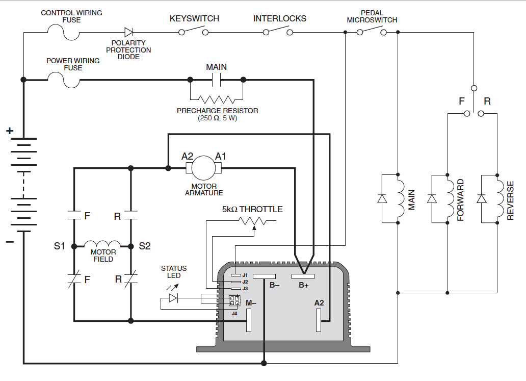 curtis 1204 controller wiring diagram imageresizertool com Curtis Electric Motor Controller Curtis Hand Held Controller