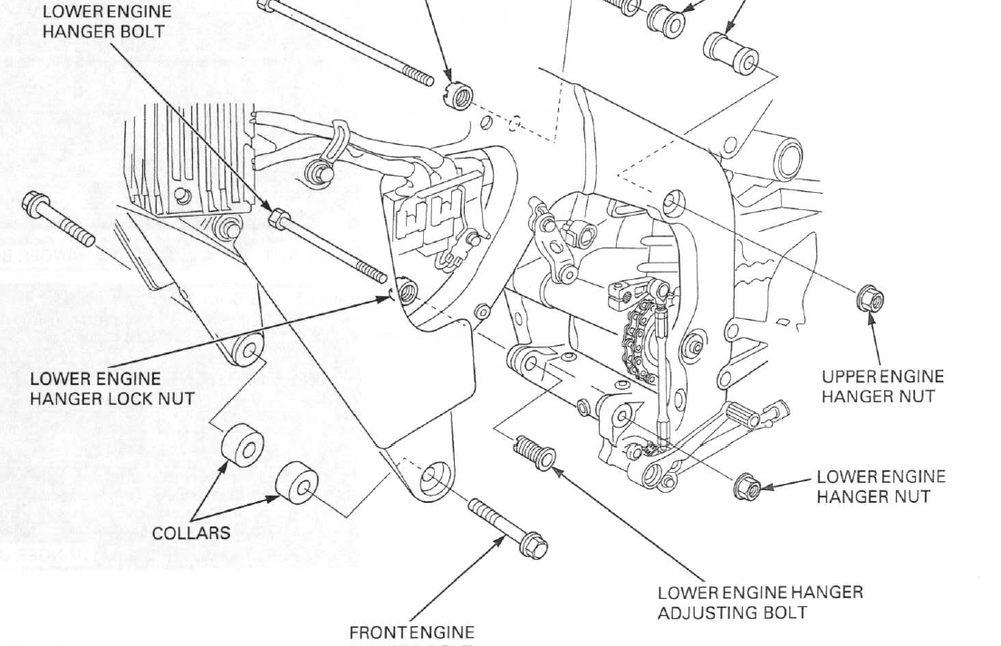 cbr600rr engine diagram