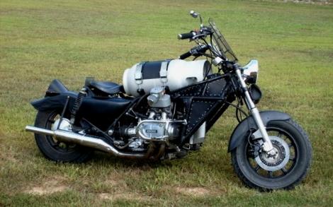 Propane powered Honda GL1200 via bikevx.com